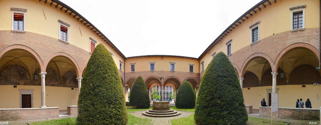 San Valentino in città - chiostro_della_chiesa_di_san_mercuriale a Forlì