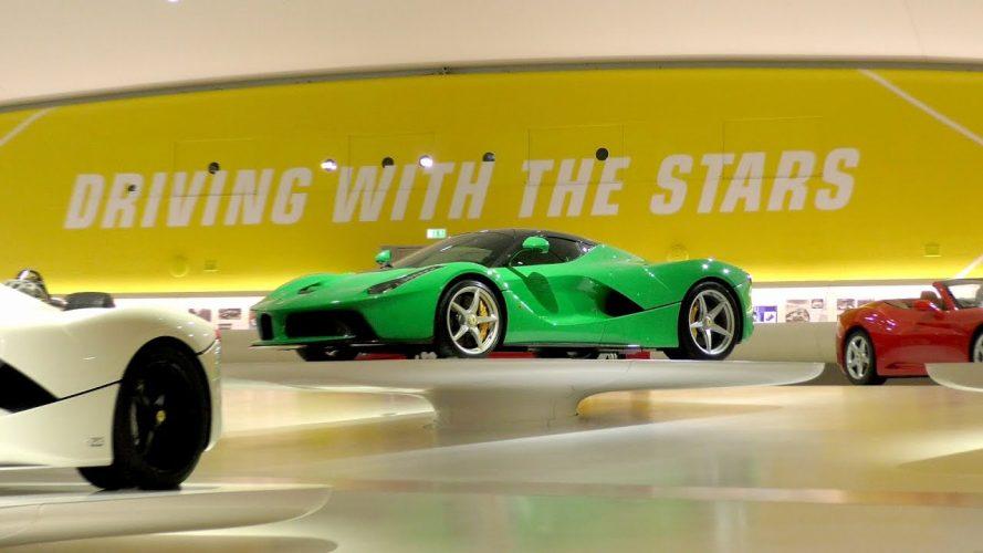 pasqua in mostra in emilia romagna - modena - driving with the stars