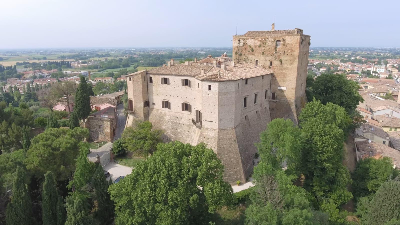 Castello Malatestiano di Santarcangelo di Romagna | Ph. urcatv cometa film