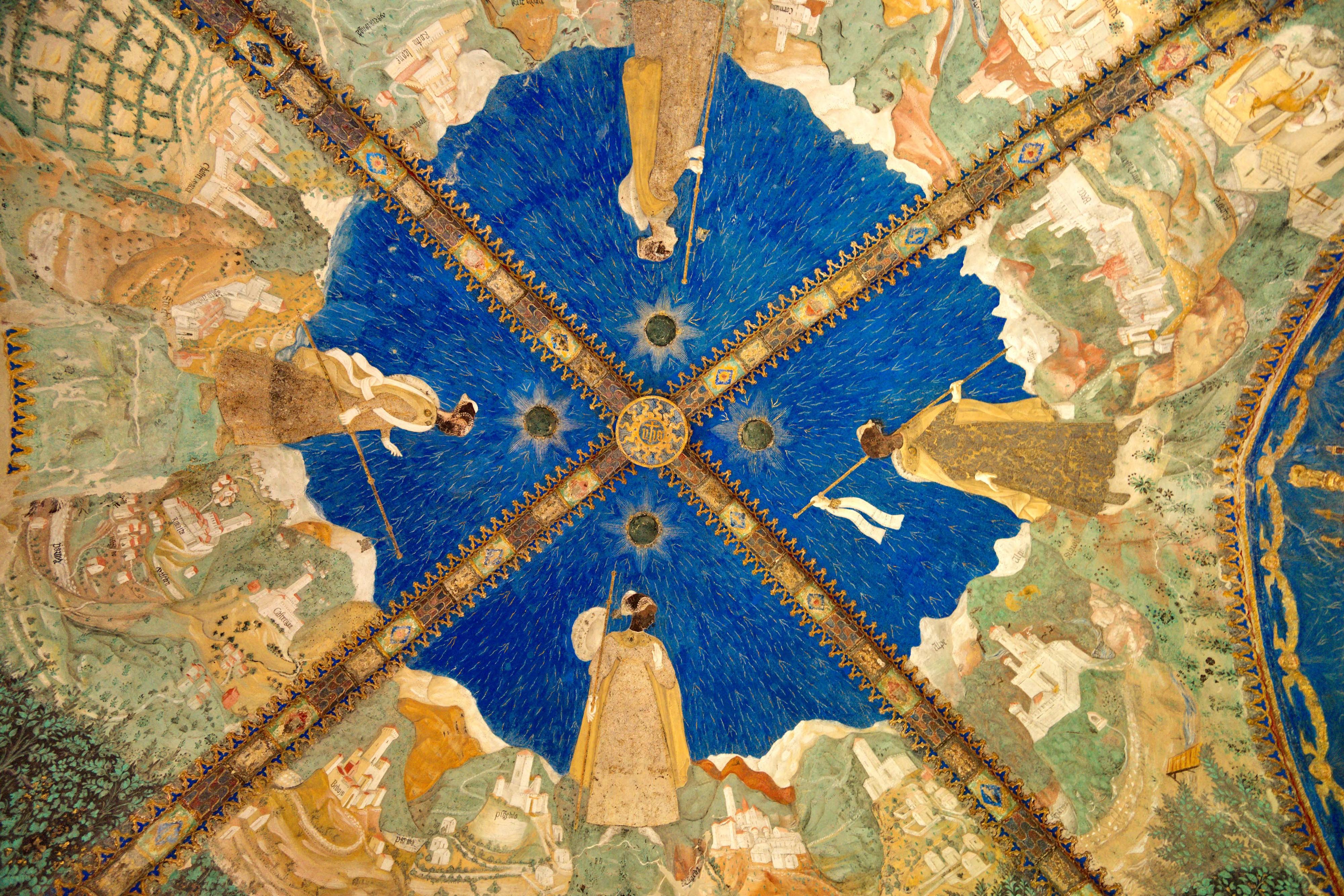 Castello di Torrechiara (Langhirano, Parma) - Volta Camera d'Oro
