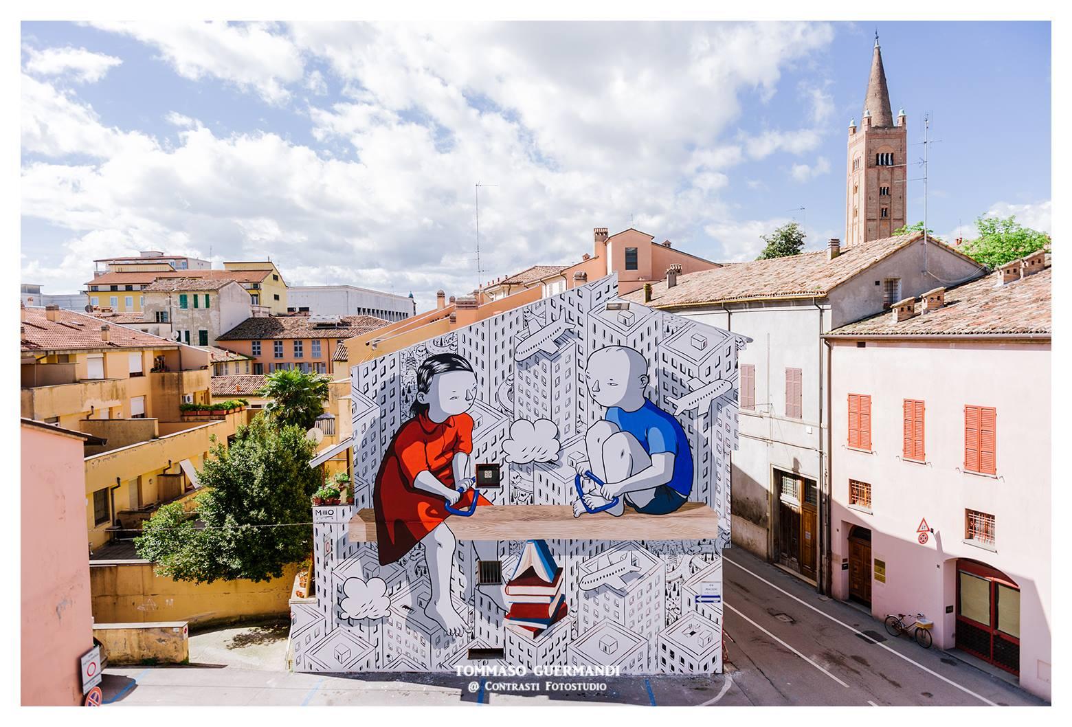 Millo - Piazza del Carmine (Forlì) | Foto di ©Tommaso Guermandi