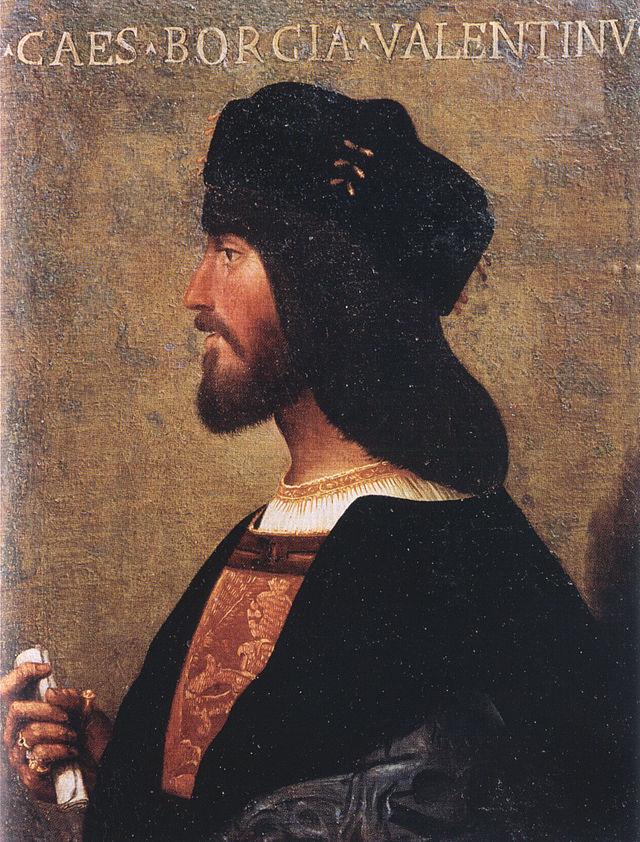 Bartolomeo Veneto - Ritratto di Cesare Borgia