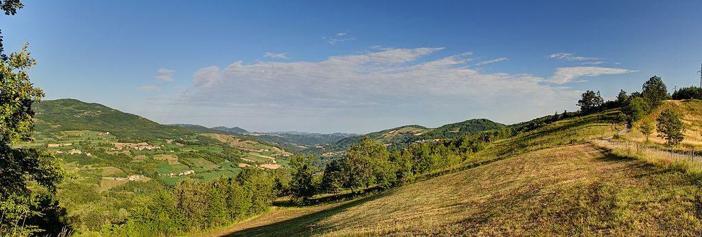 Piacenza, Val Tidone, Panorama - Ph. Terensky