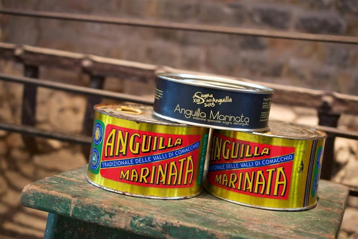 Anguilla Marinata delle Valli di Comacchio (#FoodValley)