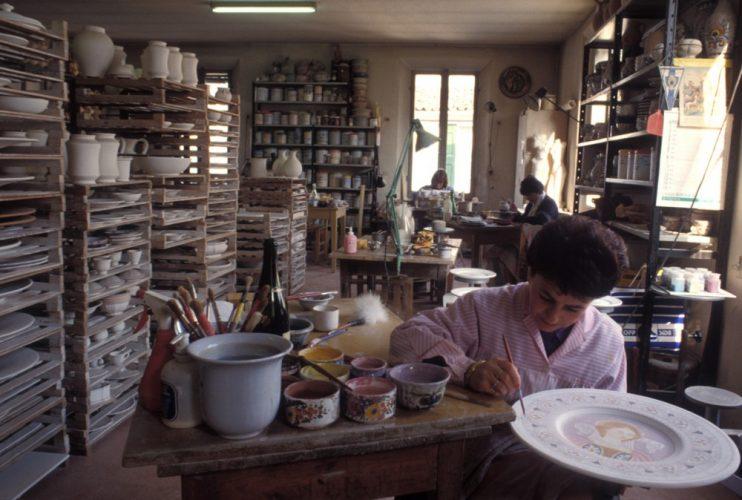 Bottega ceramica faentina