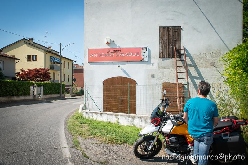 La Casa Museo Antonio Ligabue a Gualtieri RE