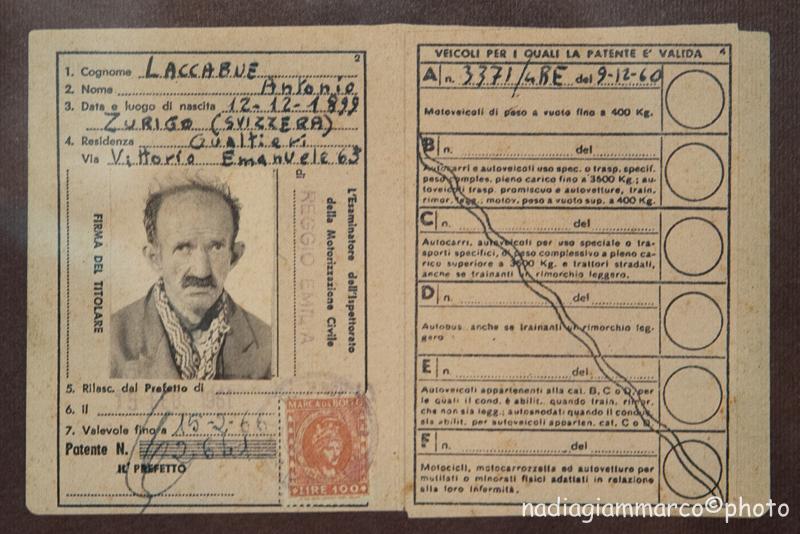 La patente di Antonio Ligabue