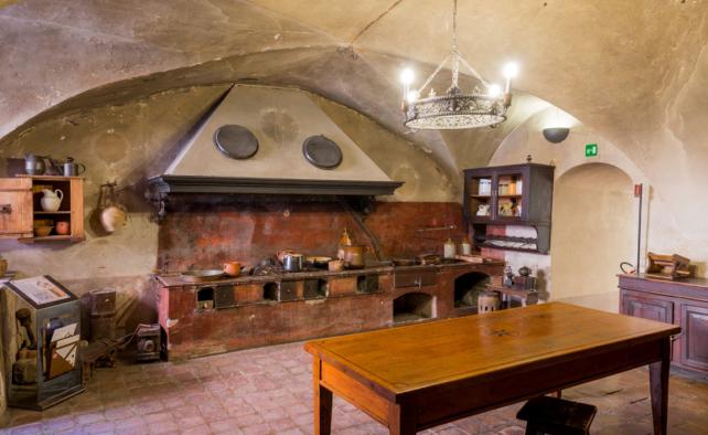 Cucina della Rocca di Dozza