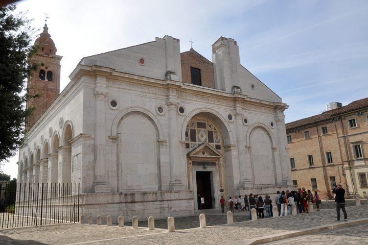 piero della francesca a rimini - tempio malatestiano
