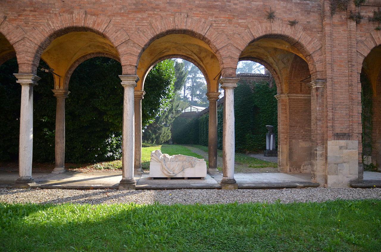 Piacenza, Galleria Ricci Oddi, giardino | Ph. Yuri.Zanelli