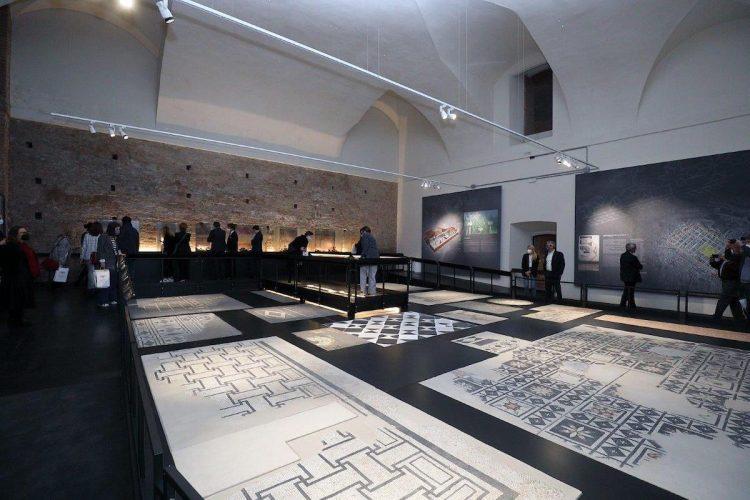 Piacenza, Museo Archeologico, Sala delle pavimentazioni, ph. Carlo Pagani, Archivio foto Comune di Piacenza