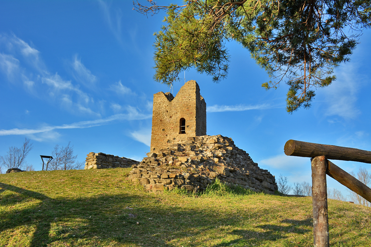 Rocca di Monte Battaglia (Casola Valsenio, Ravenna)