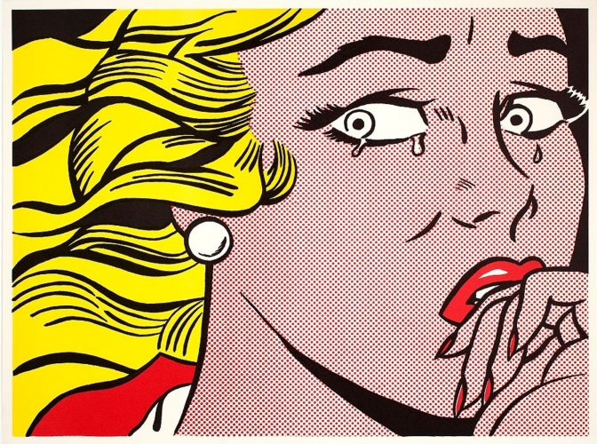 Roy-Lichtenstein-Crying-Girl-1963--Estate-of-Roy-Lichtenstein-SIAE-2018