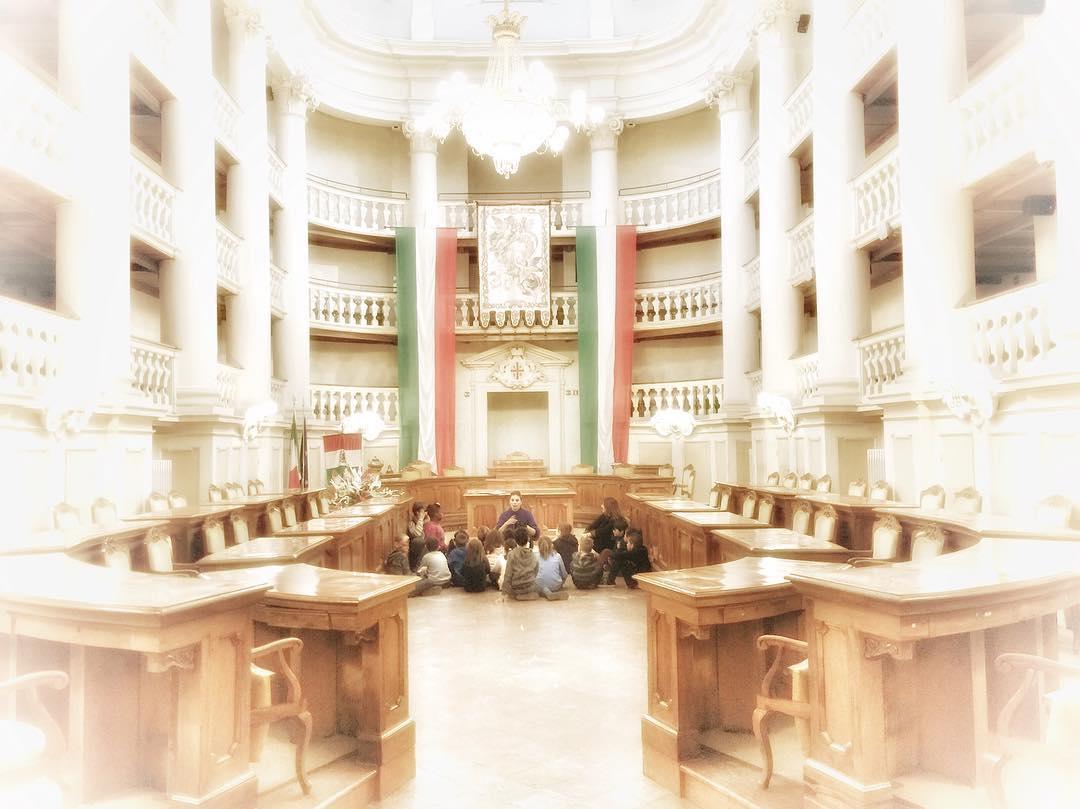 Sala del Tricolore | Ph. @museicivicire