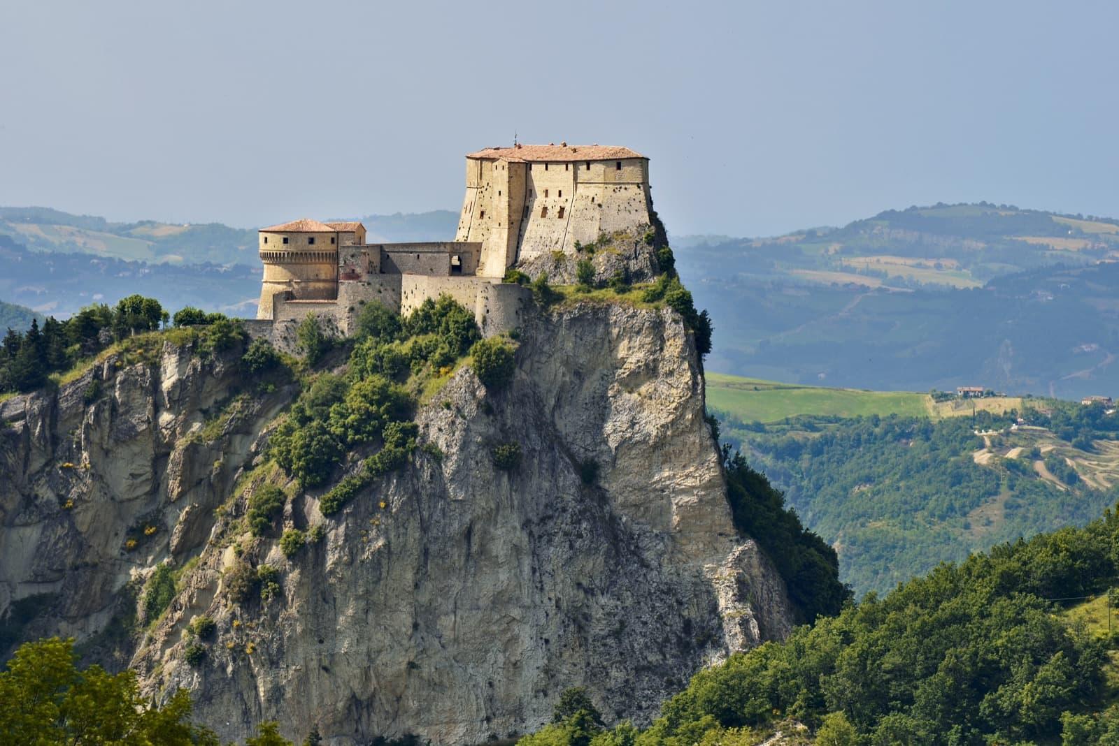 San Leo, veduta della fortezza Ph. carlo_grifone