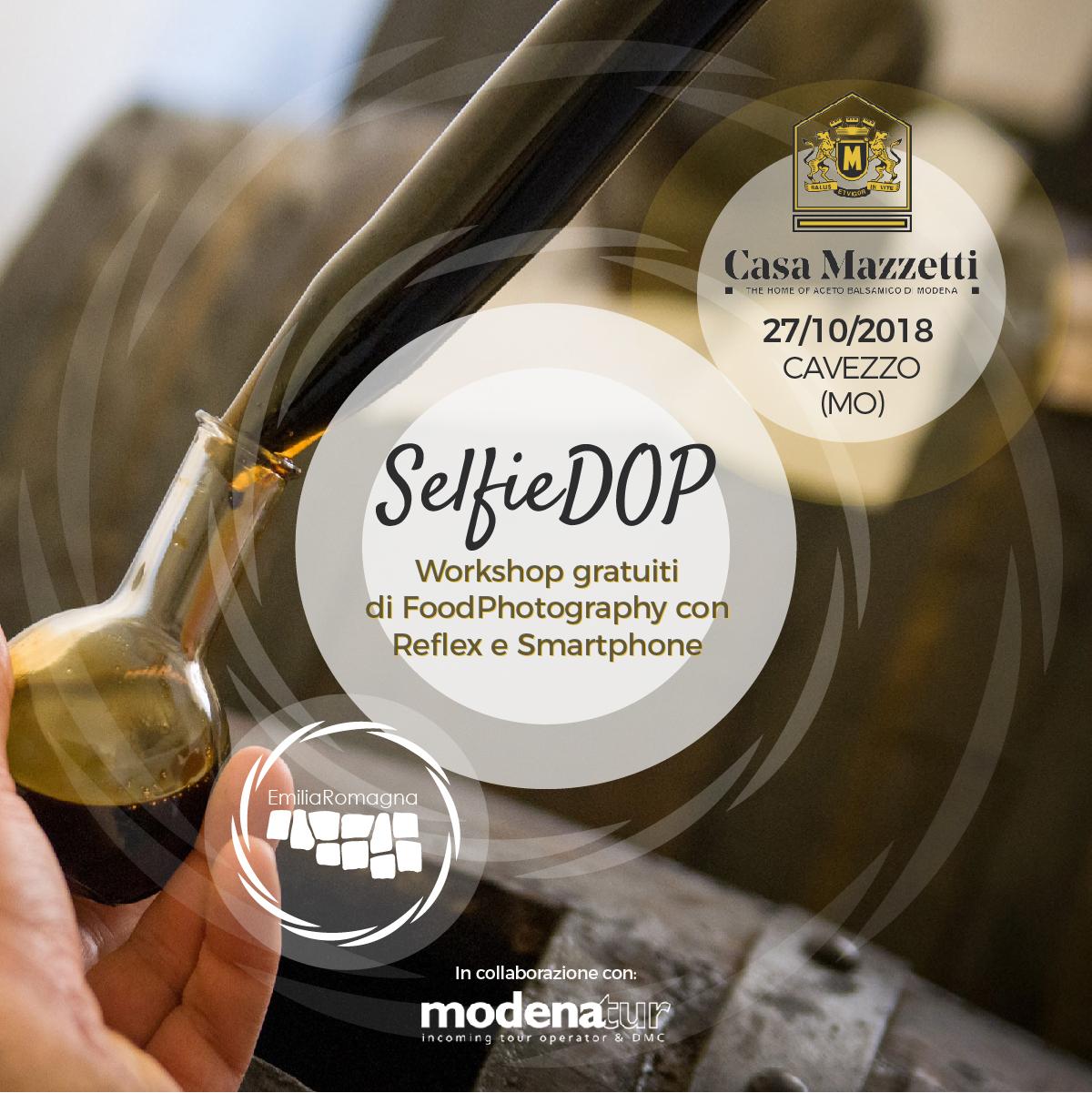 SelfieDOP Casa Mazzetti Cavezzo Modena