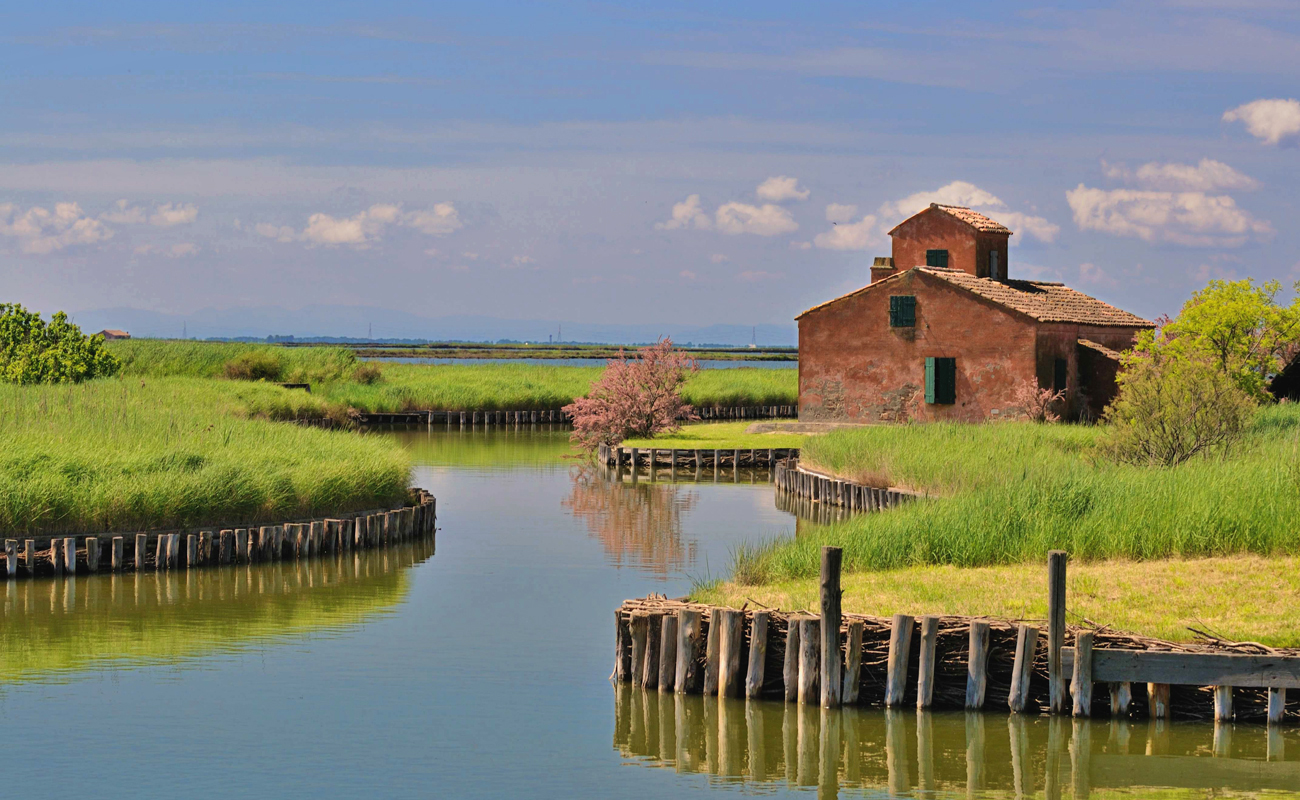 Valli di Comacchio, Ferrara | Ph. parcodeltapo.it