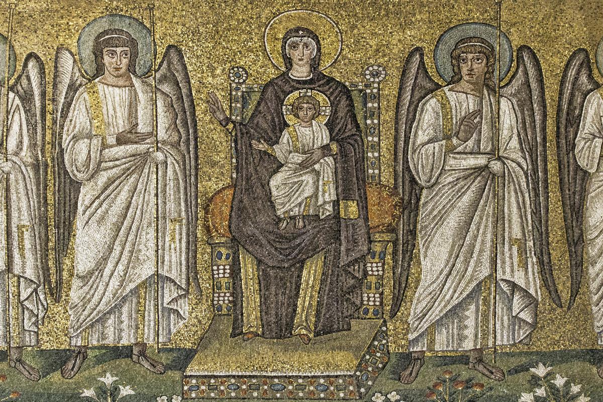 Basilica di Sant'Apollinare Nuovo (Ravenna) - Beata Vergine