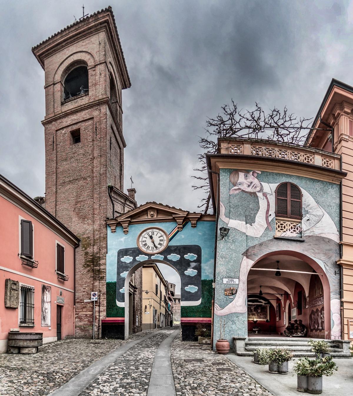 Biennale del Muro Dipinto | Dozza | Foto di Vanni Lazzari
