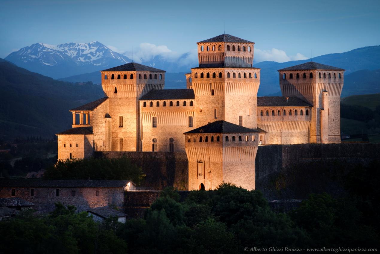 Castello di Torrechiara, Parma | Foto © Alberto Ghizzi Panizza