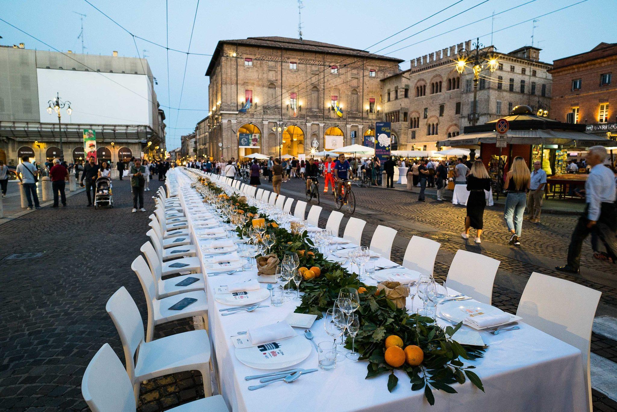 Cena dei Mille, Parma