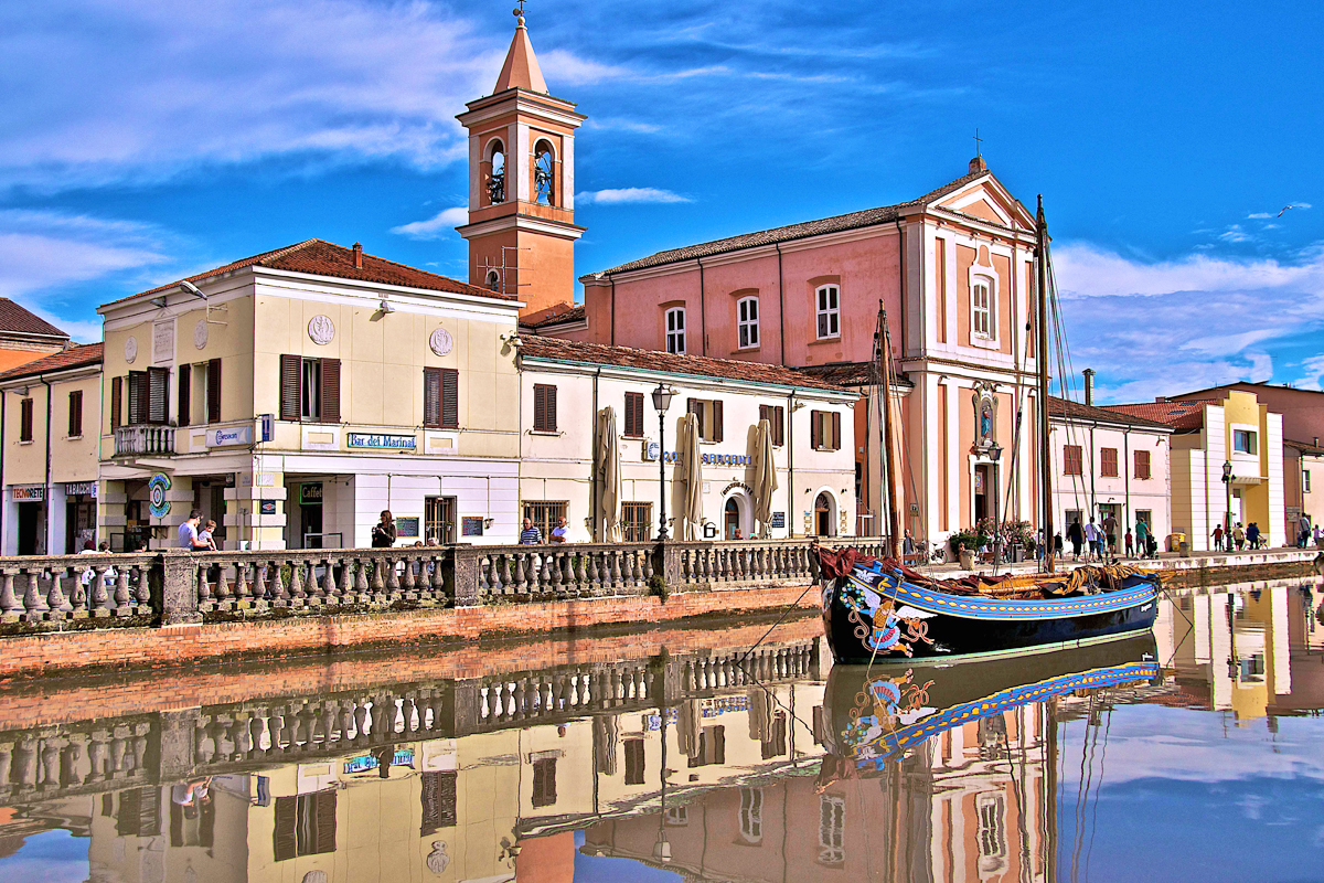 Cesenatico, Canale Leonardesco