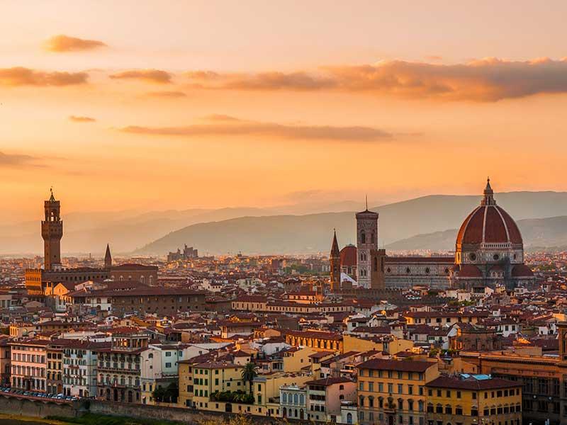 Panoramica su Firenze