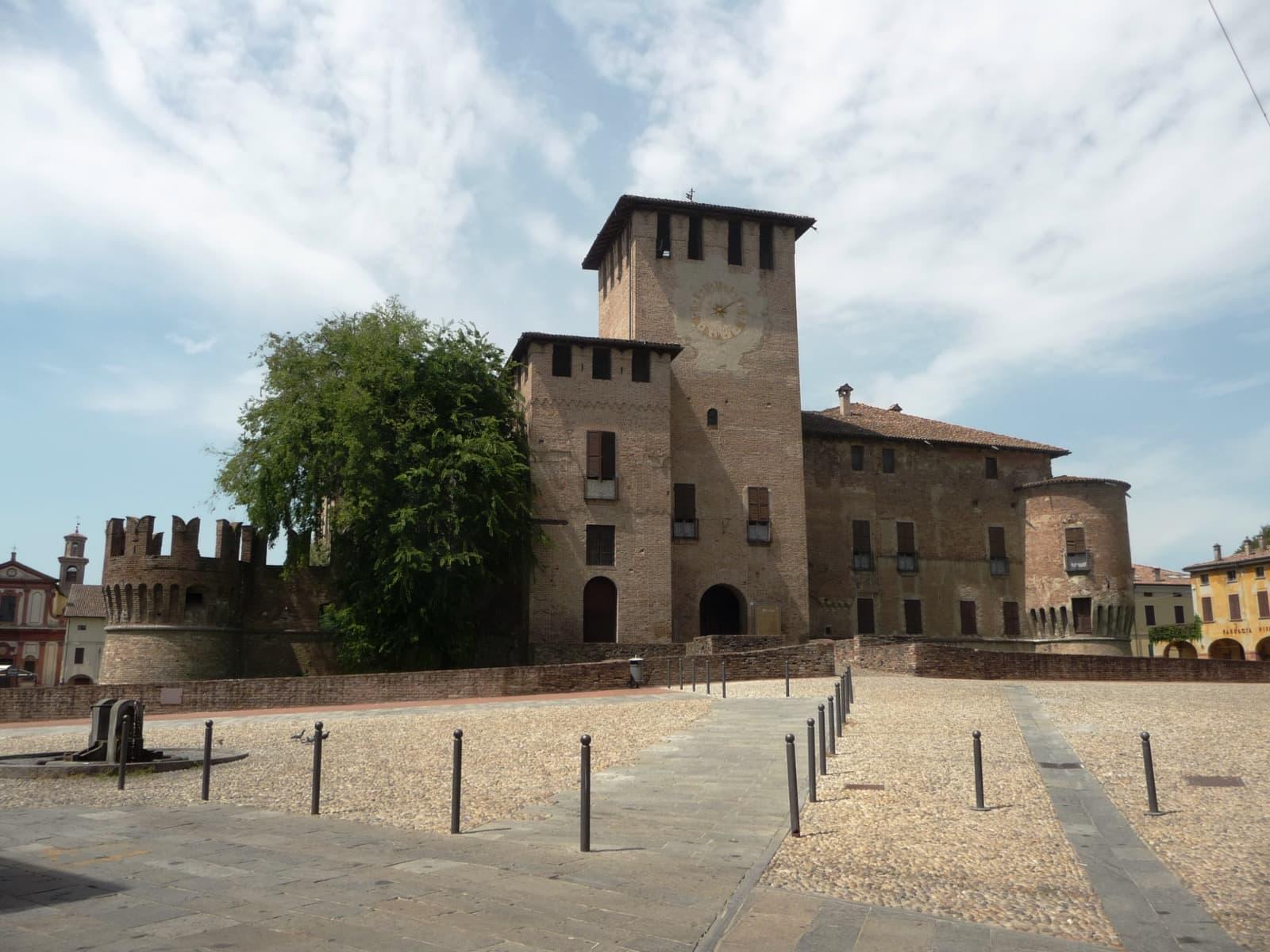 Fontanellato, Rocca Sanvitale Ph. gufo84 via ODM