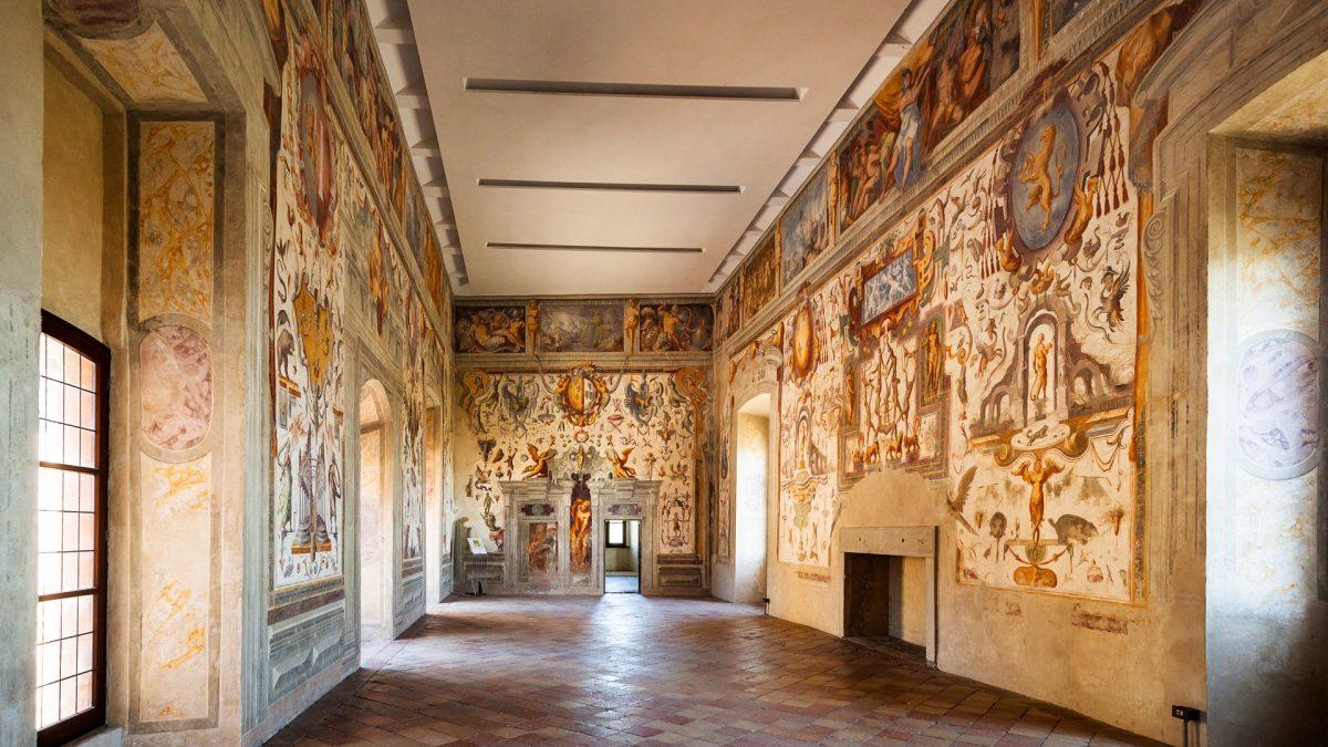 Castello di Torrechiara (Langhirano, Parma) - Grottesche