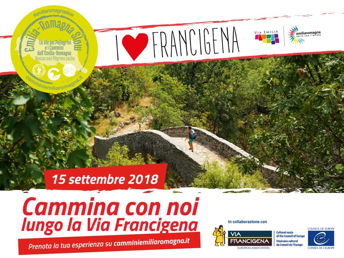 locandina-I-Love-francigena- emilia romagna fiorenzuola d'arda fidenza