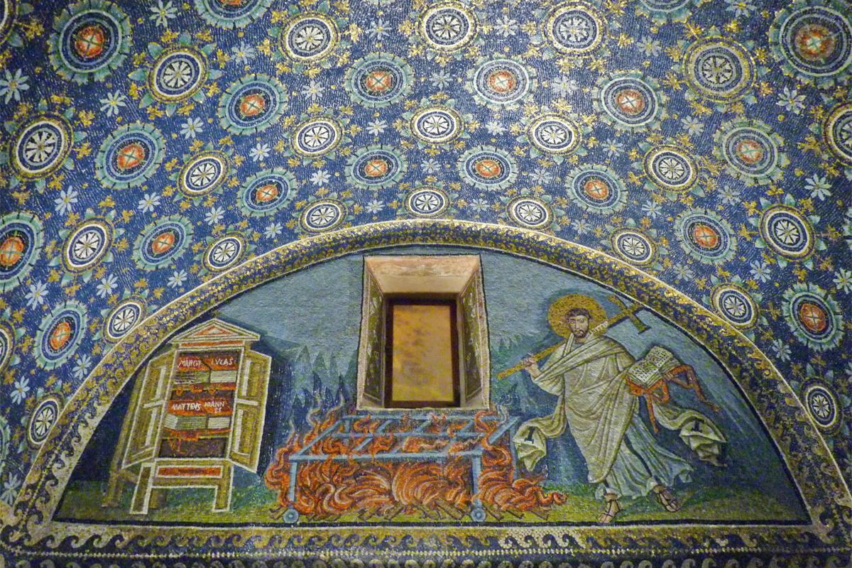 Mausoleo di Galla Placidia (Ravenna) - San Lorenzo Martire