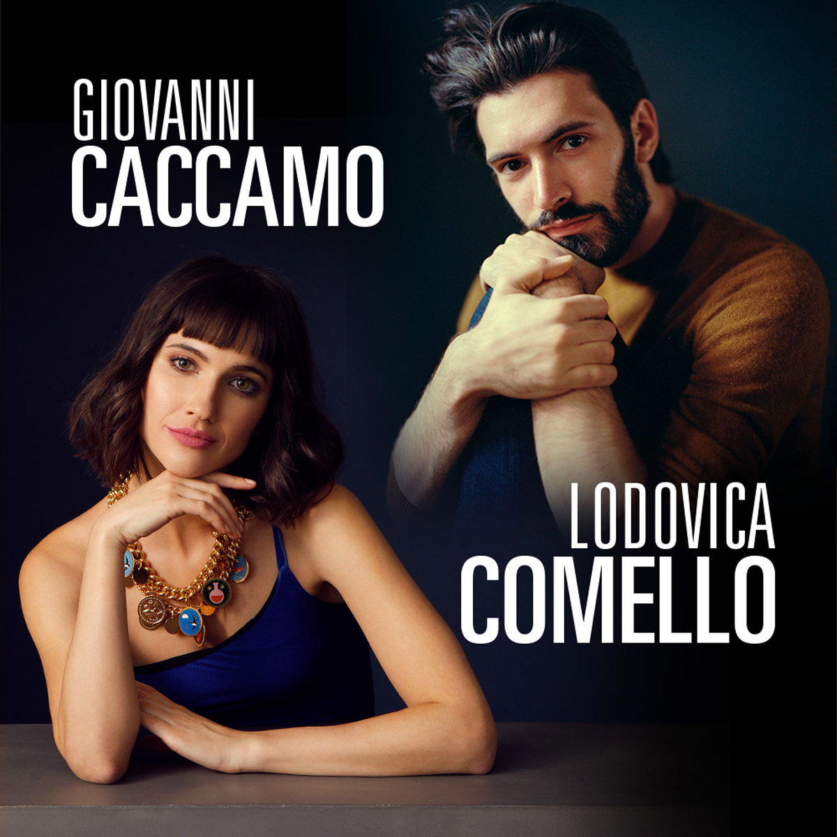 Lodovica Comello e Giovanni Caccamoin concerto