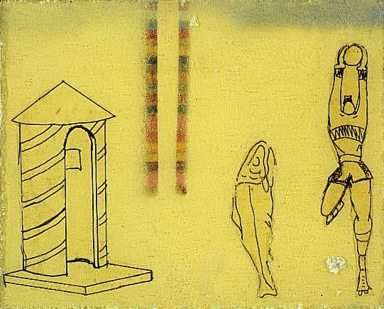 pieve-di-cento-bologna-magi900 Mambor Renato_composizione 1967 olio su cartone cm 10x8,1