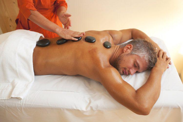 punta marina, ravenna, terme massaggio hot stone uomo