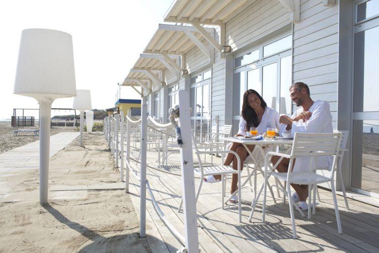 ravenna, terme colazione in riva al mare