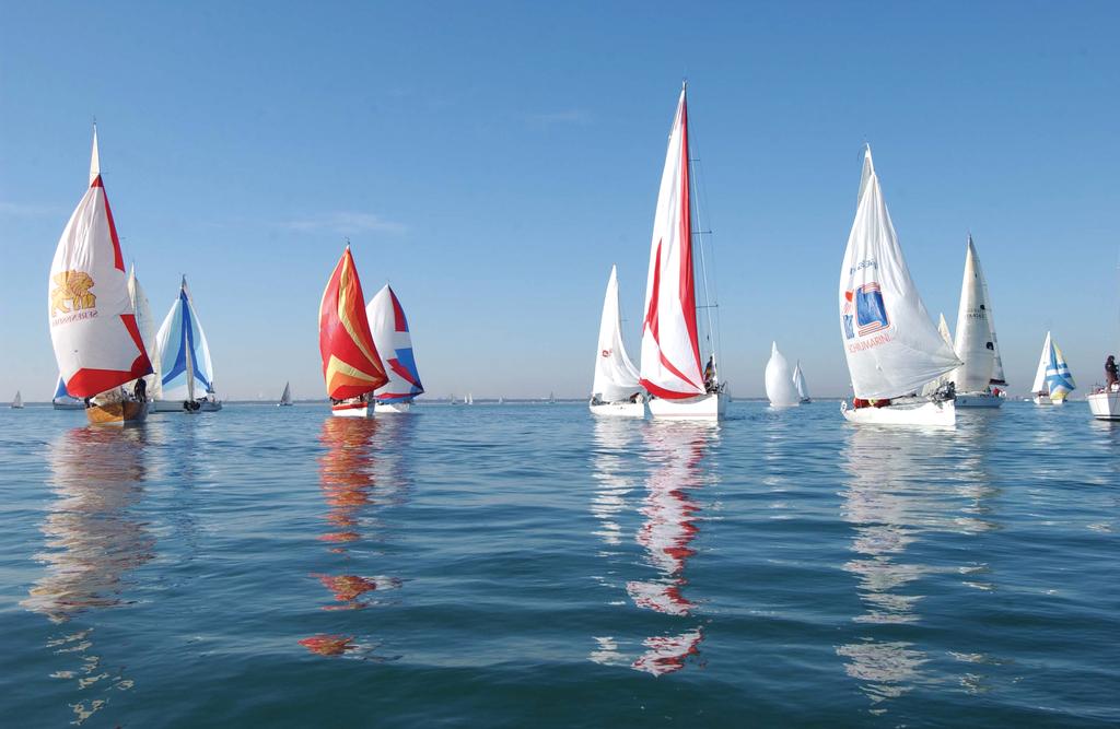 Vela a Marina di Ravenna