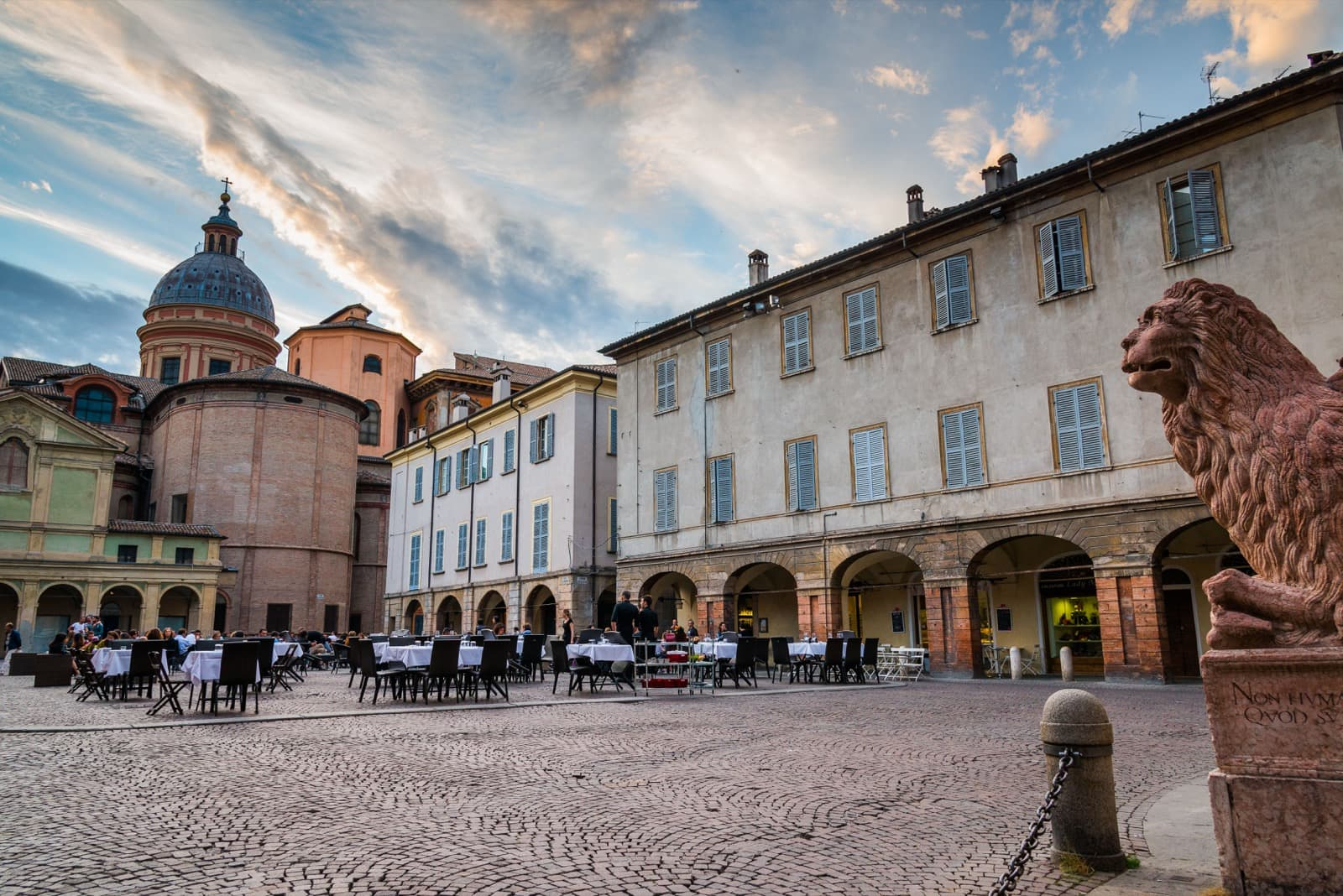 Reggio Emilia, Piazza San Prospero | Ph.lugarex
