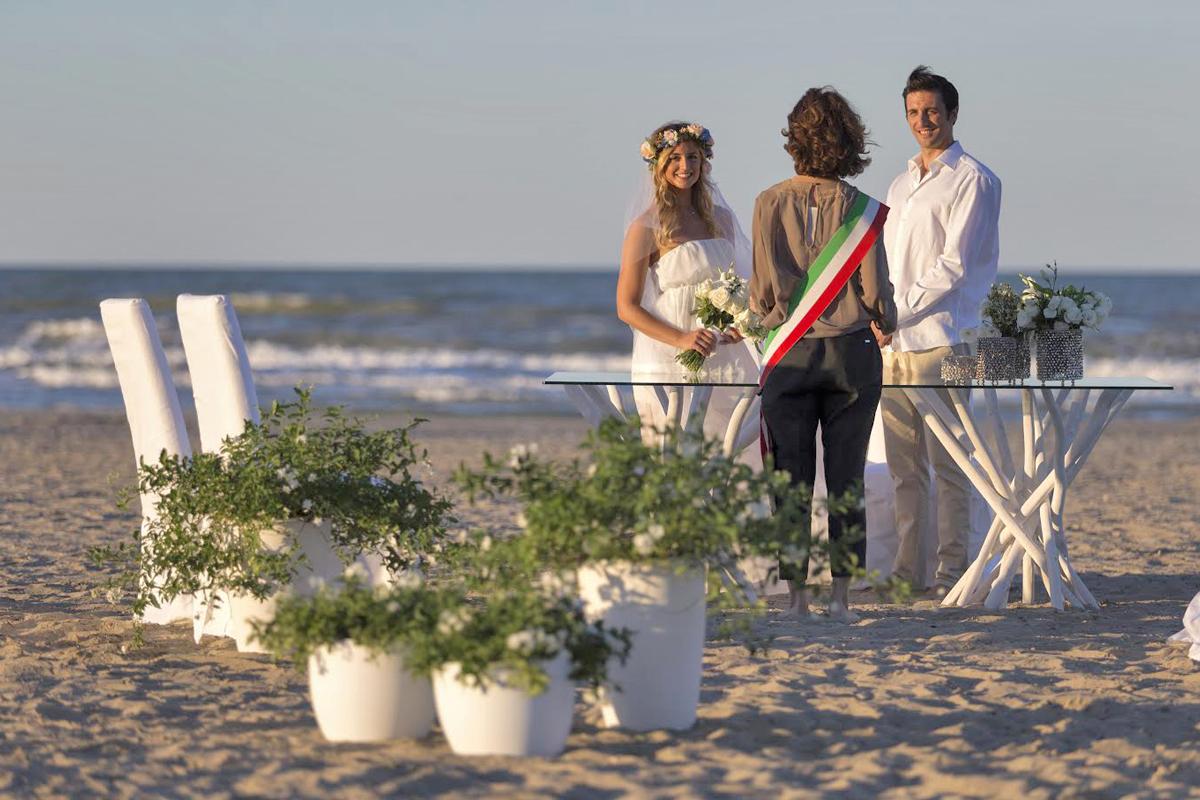 Matrimonio in Spiaggia a Riccione