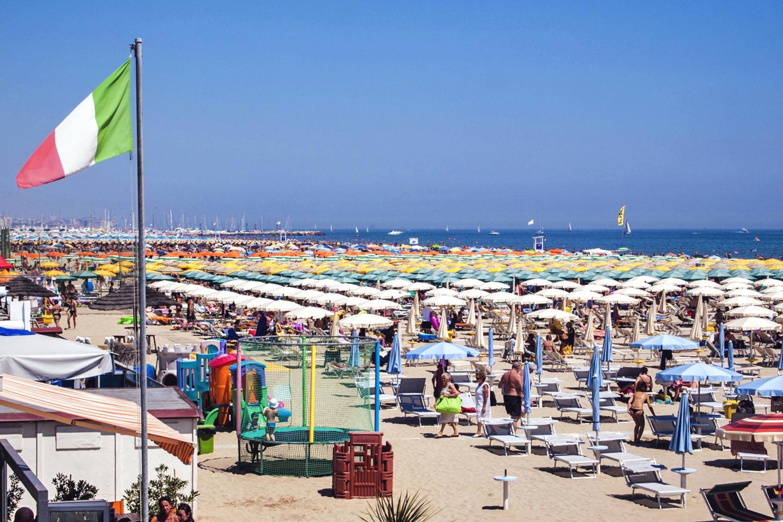 Spiaggia di Cervia | Foto © Fantini (Archivio Apt)