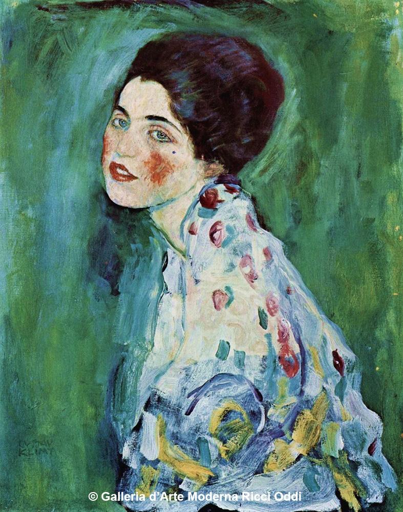 Ritratto di signora, Gustav-Klimt © Ricci Oddi