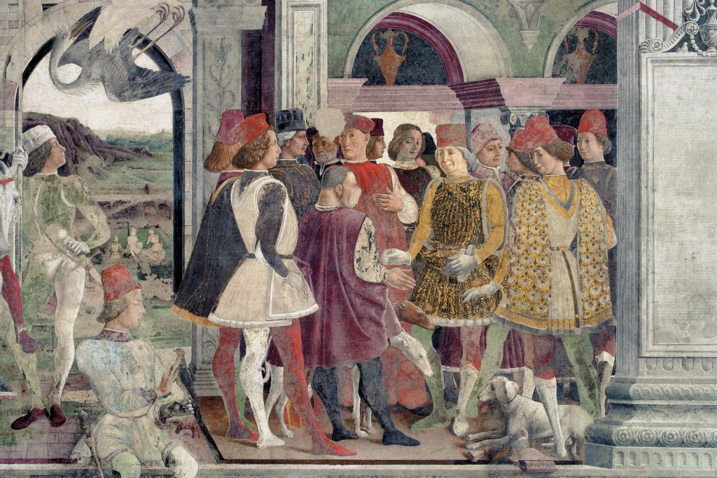 From Germany to Italy: Canossa's dinasty, the Este Dukes and other noble houses of Emilia Romagna