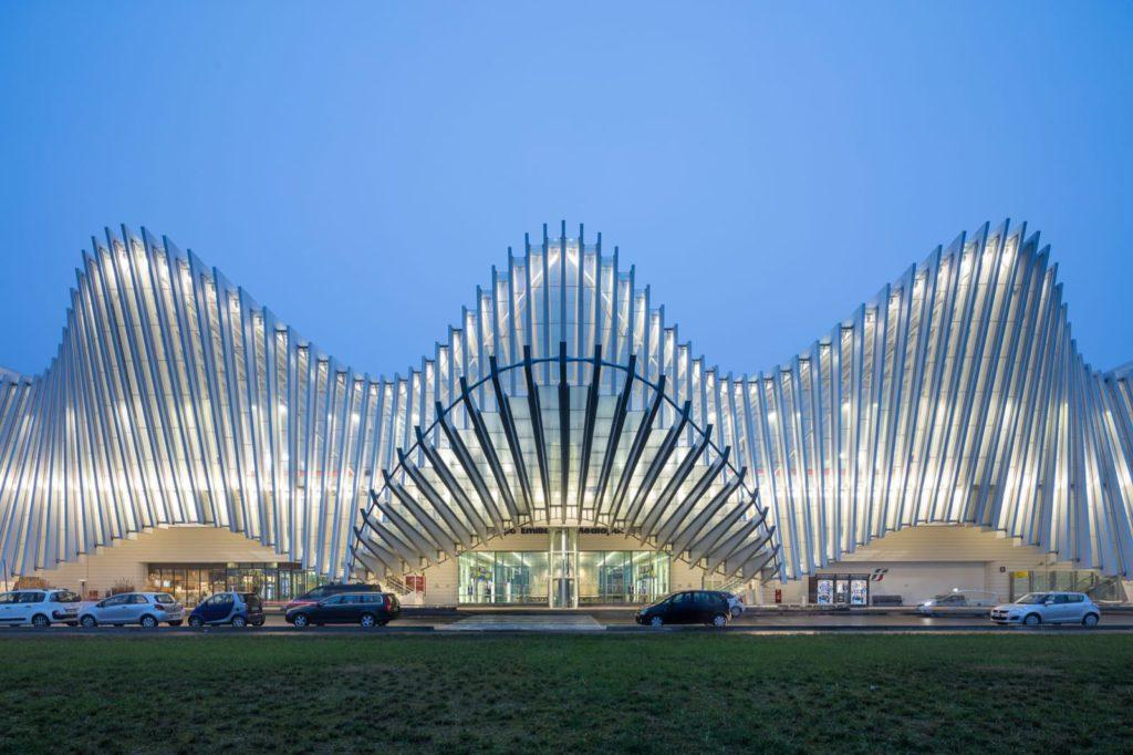 Stazione Mediopadana di Santiago Calatrava, Reggio Emilia