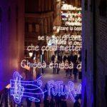 Bologna, luminarie Lucio Dalla ph. Giorgio Bianchi via Comune di Bologna