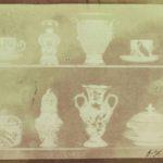 William Henry Fox Talbot, Articles of China on two shelves, 1839-1844, Modena, Biblioteca Estense Universitaria