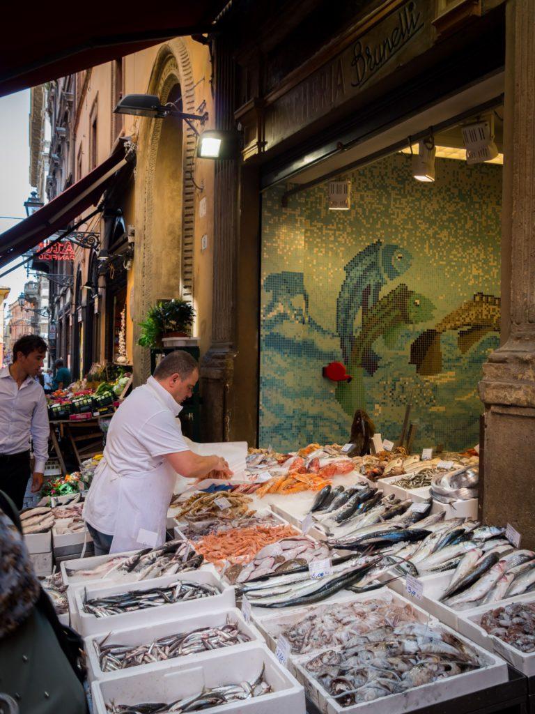 Bologna, Fishmonger ph FoodFunTravel