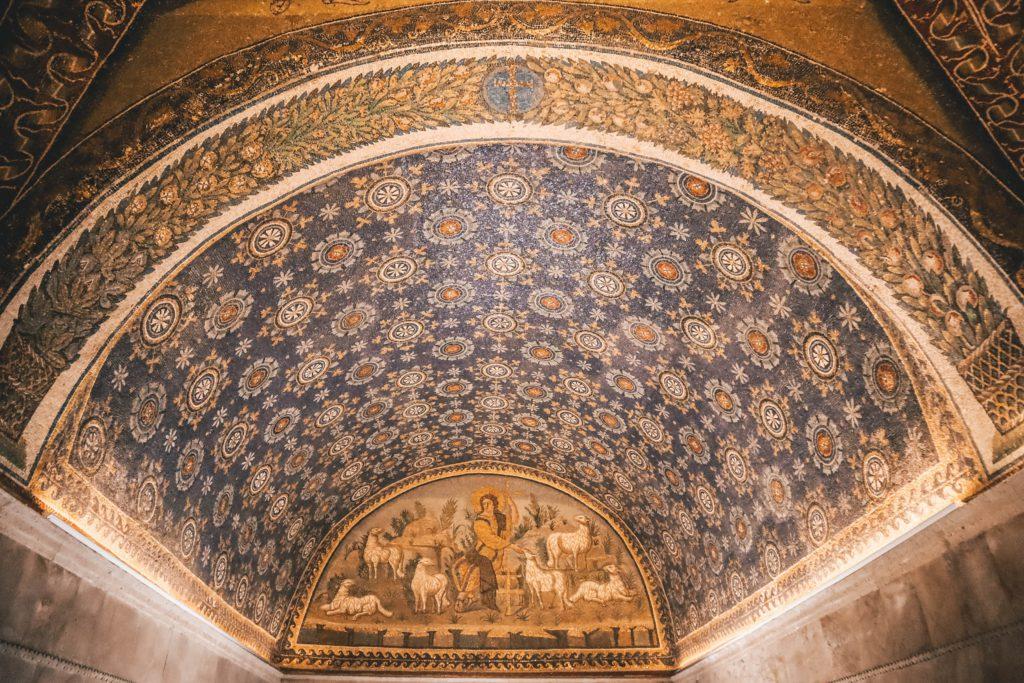 Mausoleum of Galla Placidia(Ravenna) Ph. Janet Newenham