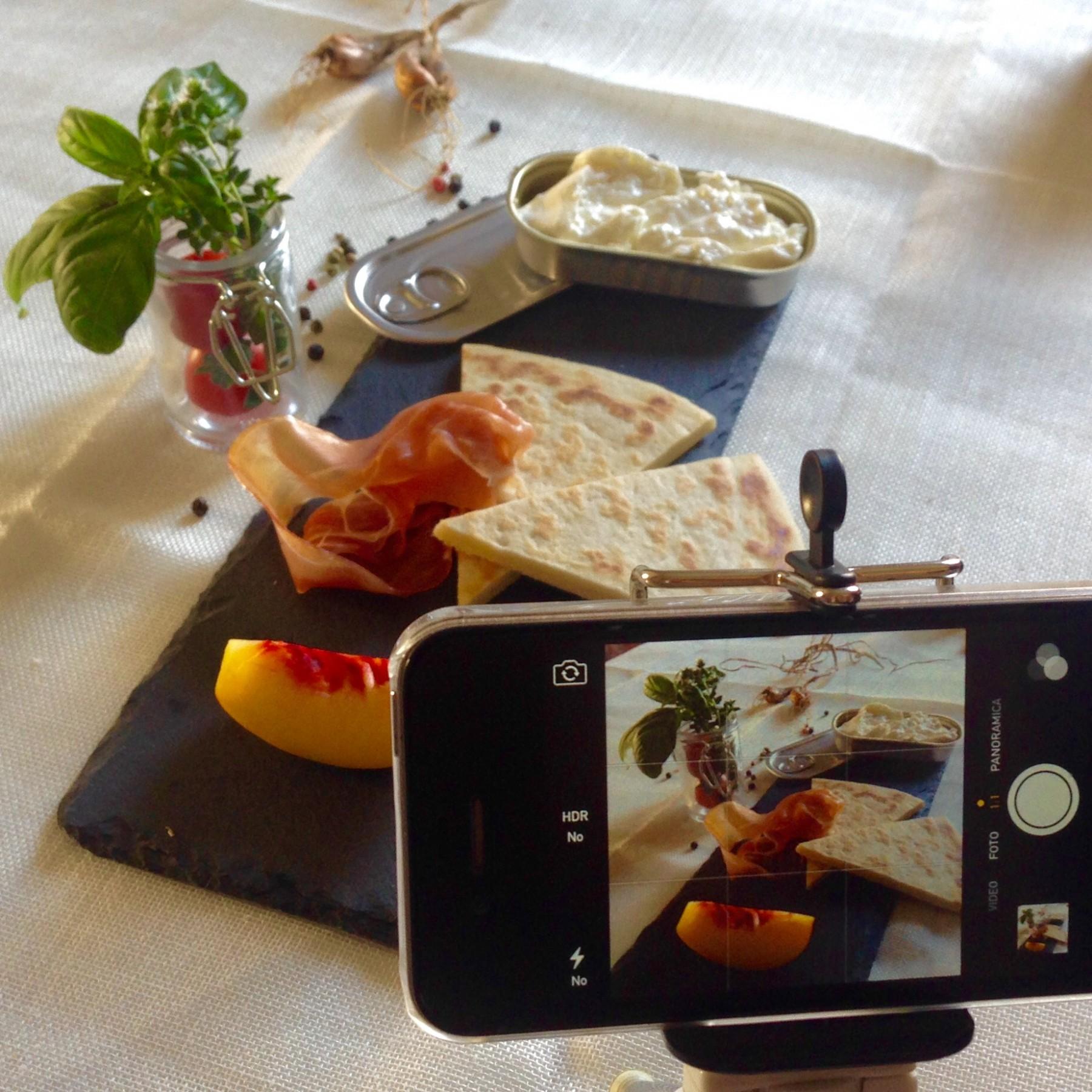 SelfieDOP: pasticciando con la FoodPhotography a CasArtusi