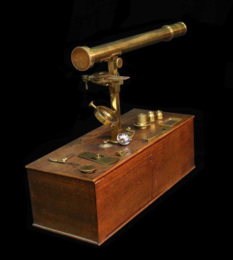 Giovanni Battista Amici, Microscopio catadiottrico, 1814, Modena, Gallerie Estensi Ph. Dario Montardi 2013