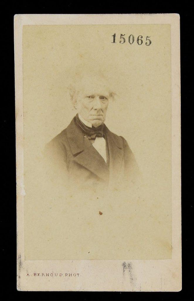 Alphonse Bernoud, Ritratto di Giovanni Battista Amici, ante 1863, Modena, Biblioteca Estense Universitaria
