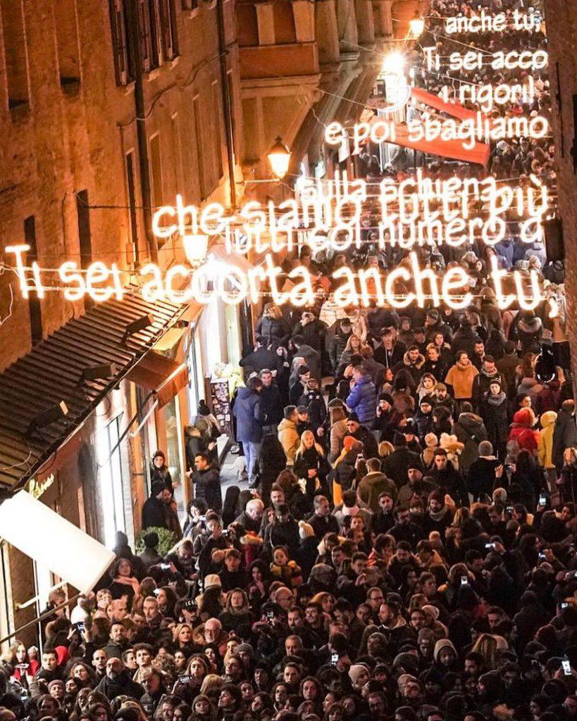 Luminarie Natale Bologna | Ph. @cesarecremonini